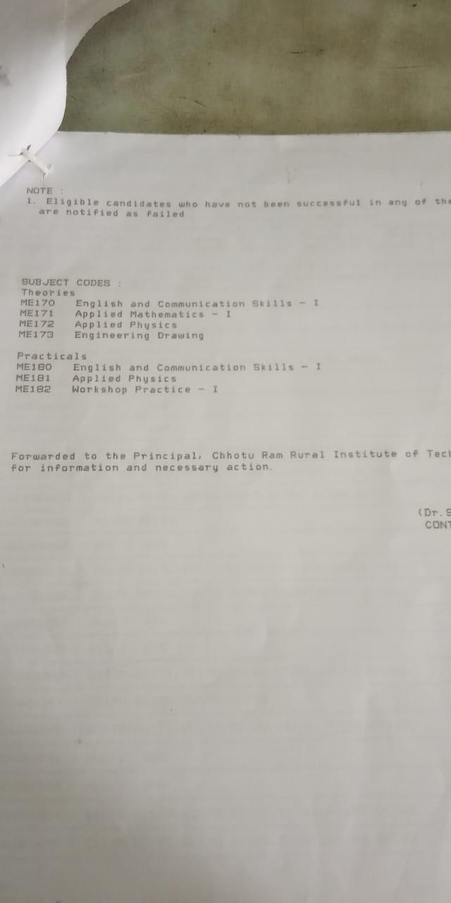 Mechanical Engineering - CRRIT